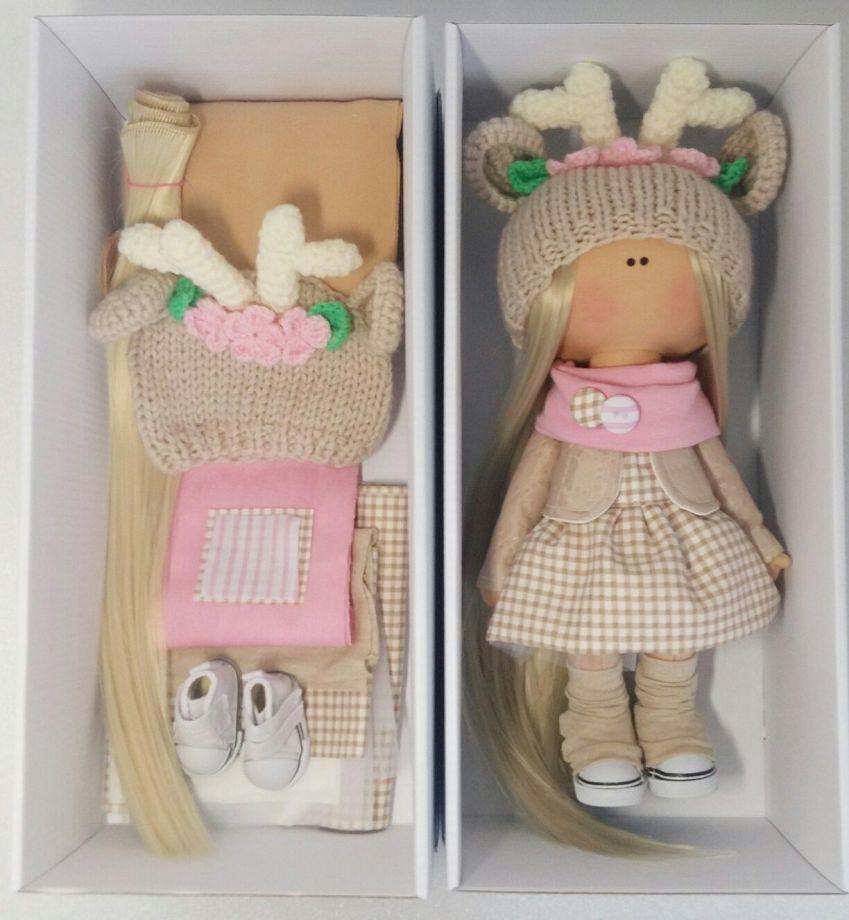 вопросом задаются набор для изготовления интерьерной куклы оригинальная цена