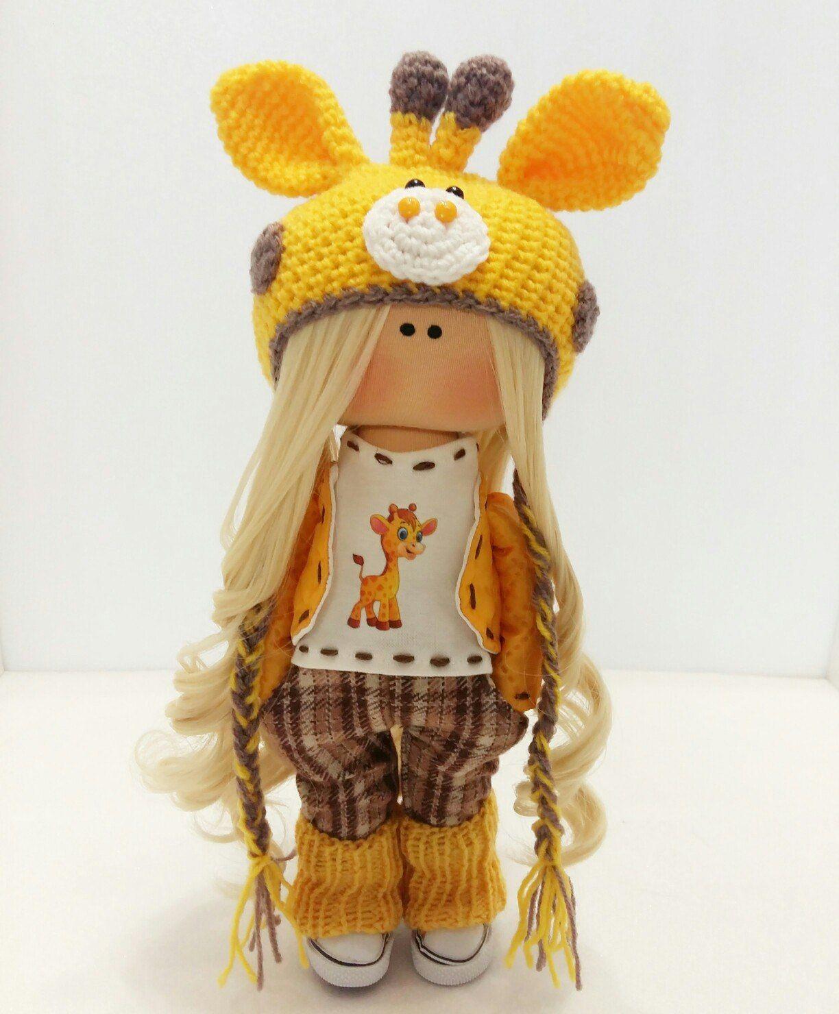 набор для изготовления интерьерной куклы флэш-открытки Спокойной ночи